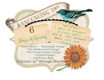 6 Days of Spring Linky Party