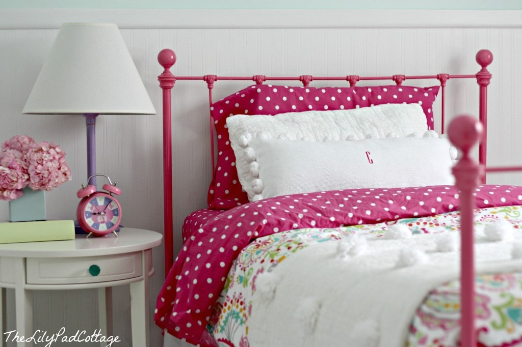cute ideas for attic bedrooms - Big Girl Bedroom Reveal Finally The Lilypad Cottage
