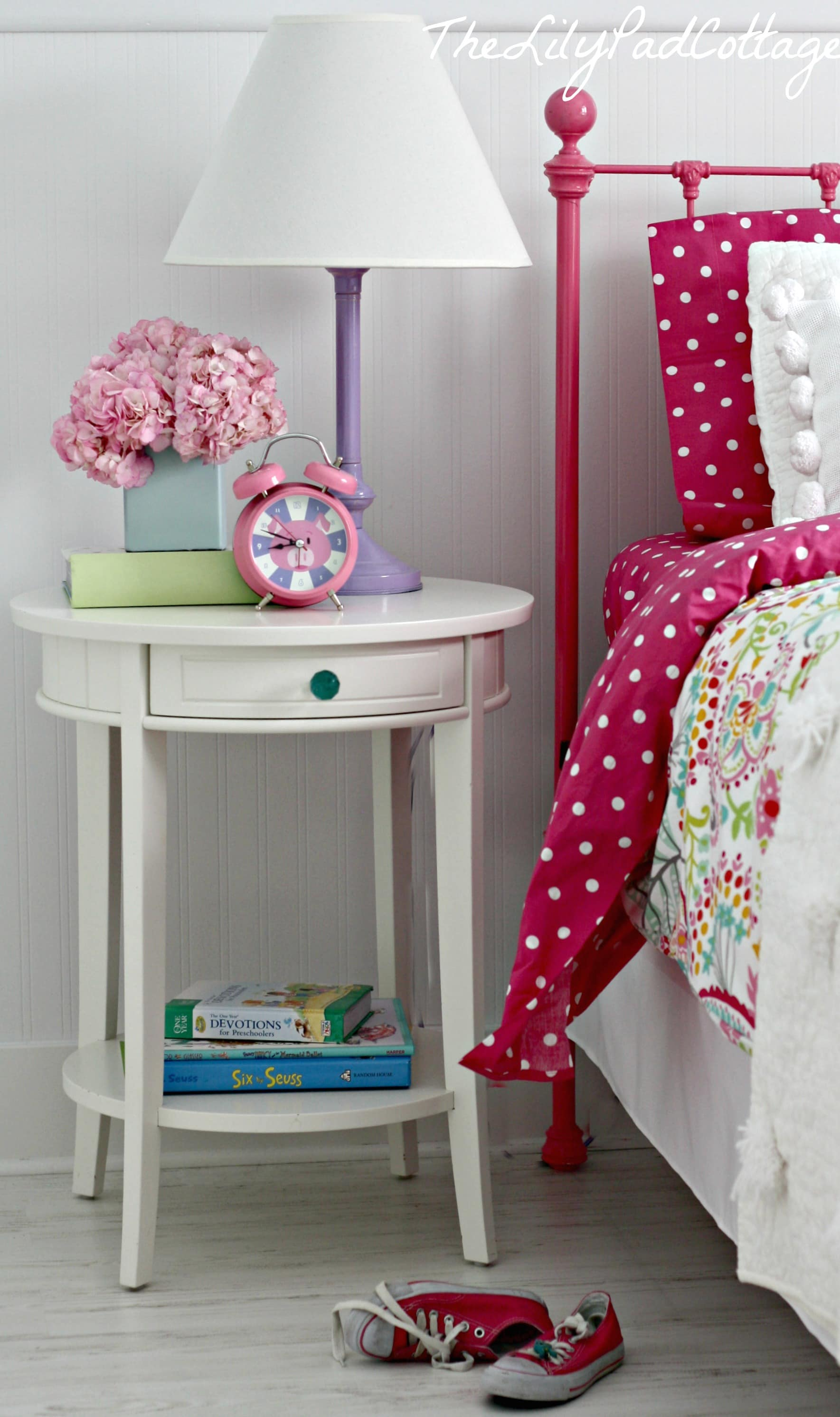 Girls Room: Big Girl Bedroom Reveal