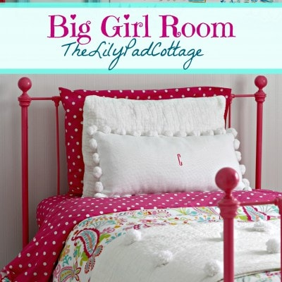 Big Girl Bedroom Reveal – Finally