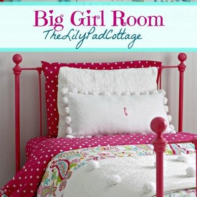Big Girl Bedroom Reveal – Finally
