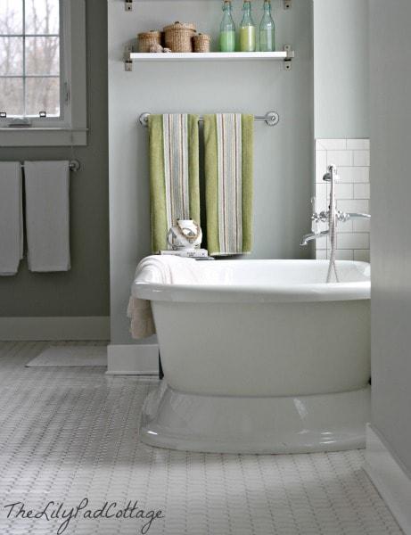 Master Bath - TheLilyPadCottage