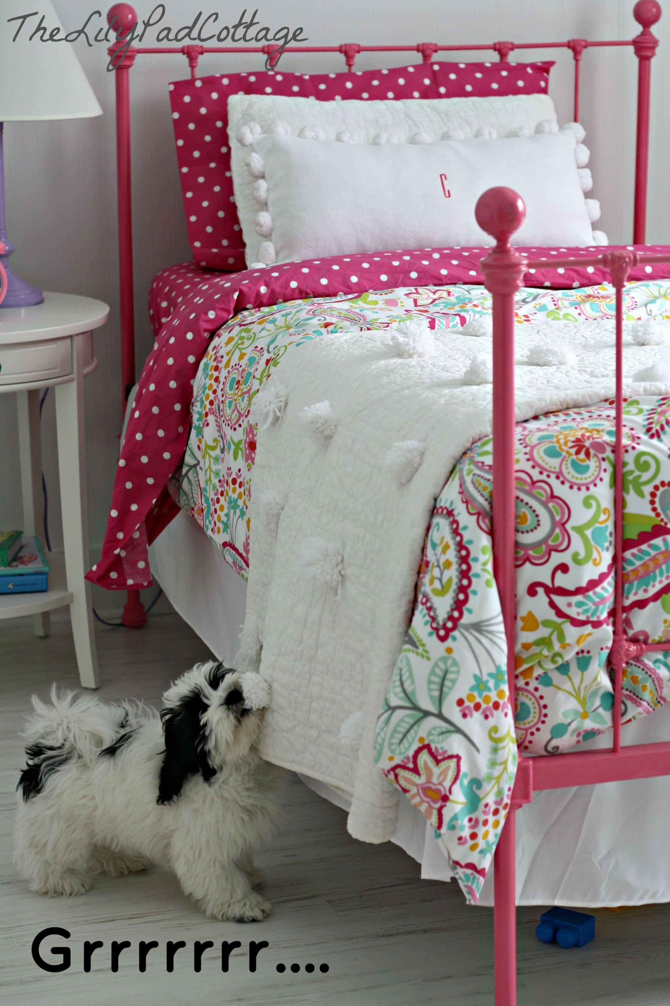 Easy No Sew Pom Pom Quilt The Lilypad Cottage