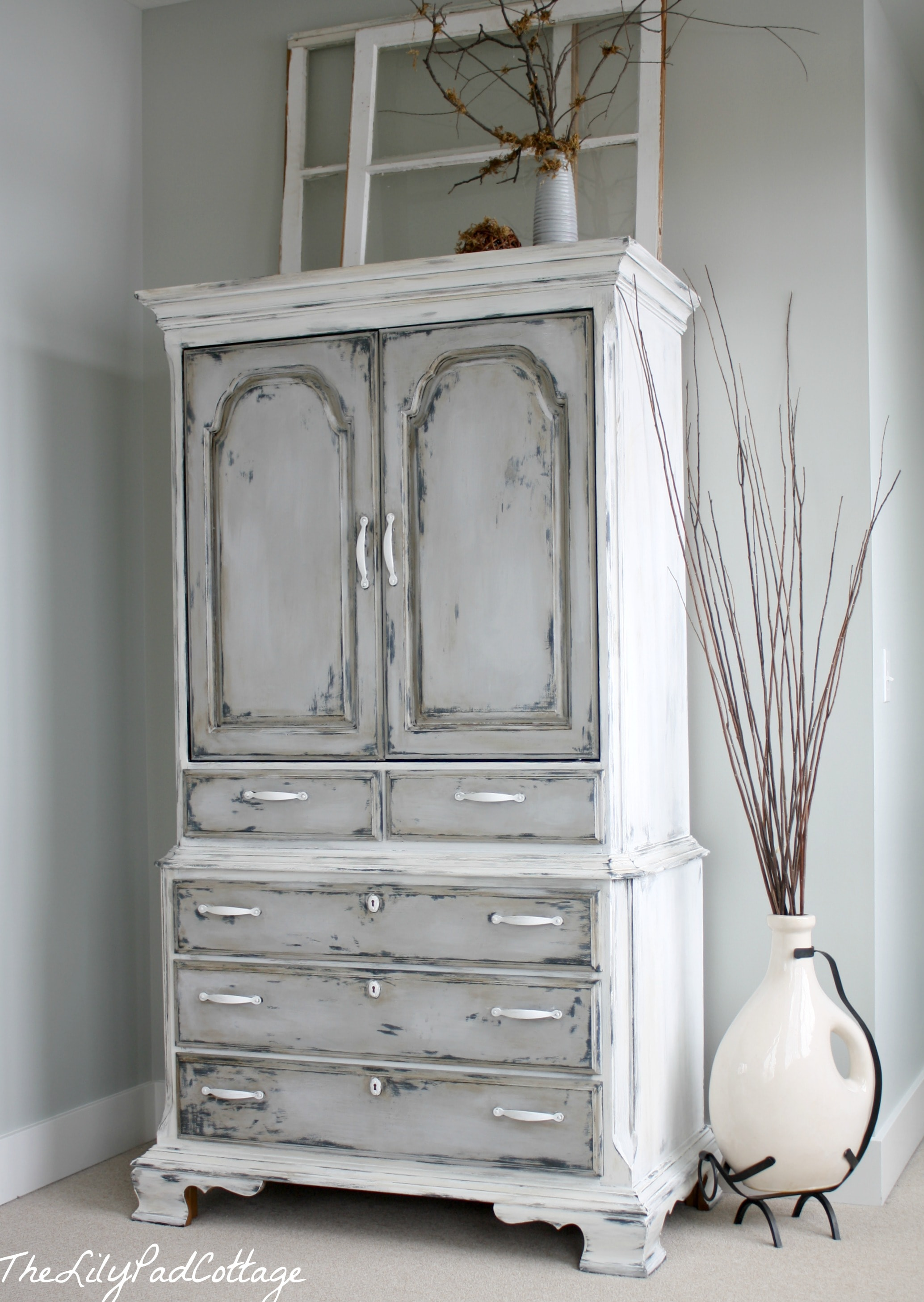 Annies Chalk Paint Kitchen Cabinets