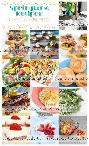 Progressive Dinner and Giveaway - thelilypadcottage.com