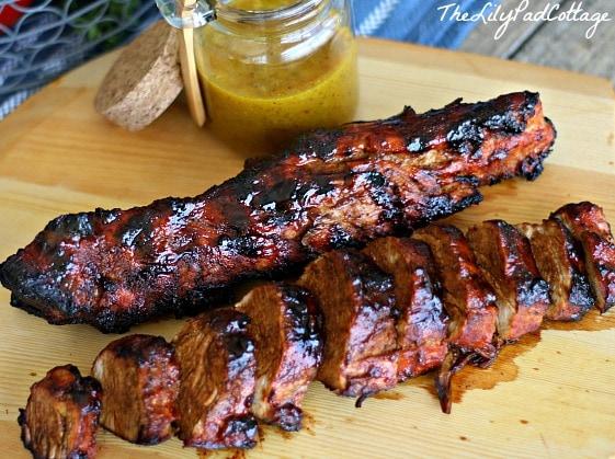 spice rubbed pork tenderloin