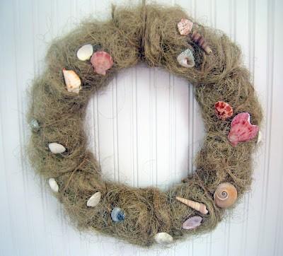 Beachy Wreath