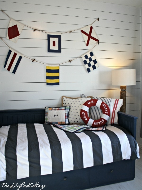 nautical themed bedroom nautical big boy room reveal the lilypad cottage 12681