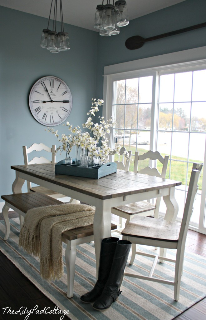Dining area - the lily pad cottage