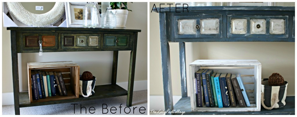 Furniture Makeover - www.thelilypadcottage.com