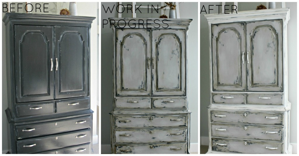 Furniture Makeover Roundup - www.thelilypadcottage.com