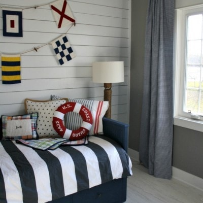 Nautical Big Boy Room Reveal