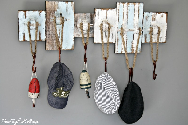 Nautical Hat Rack Thelilypadcottage