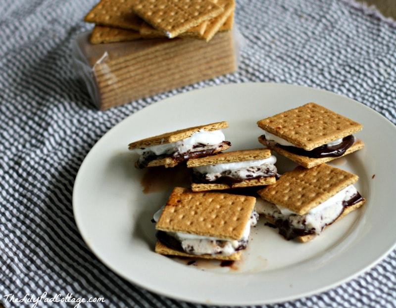 S'mores Ice Cream Sandwiches