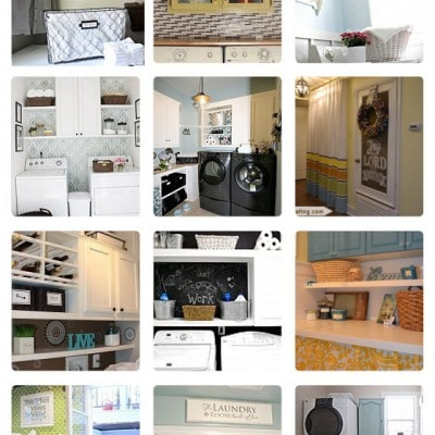 Hometalk Laundry Room Roundup