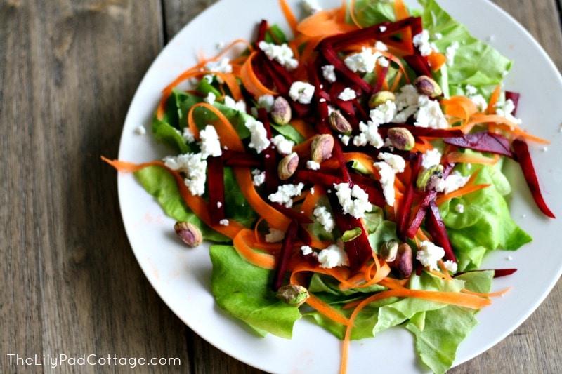 Goat Cheese Beet Salad