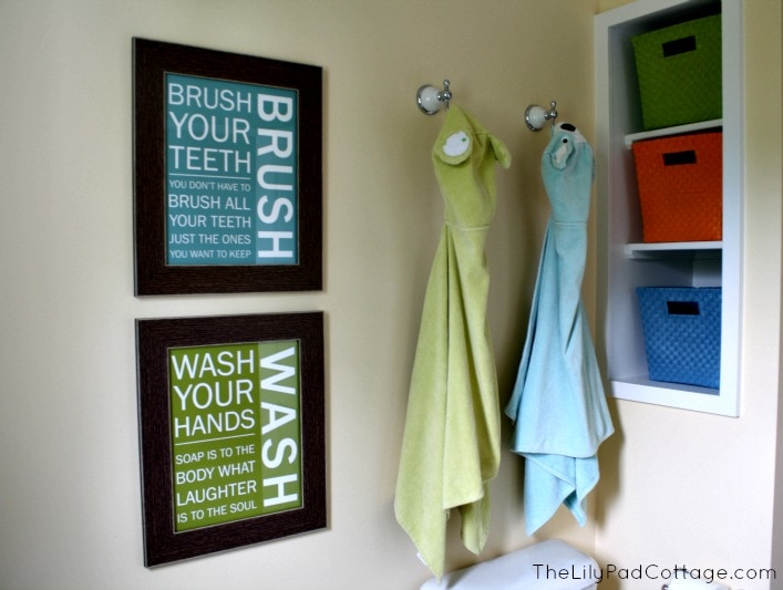Kids Bathroom Reveal And Fun Giveaway The Lilypad Cottage