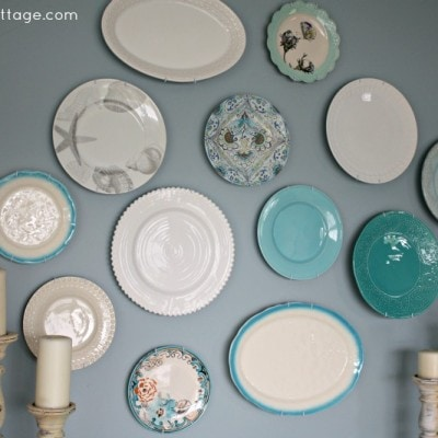 My New Plate Wall and More Shopping Adventures