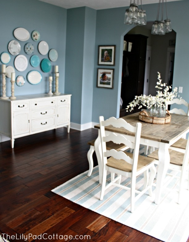 Dining Area Decor - www.thelilypadcottage.com