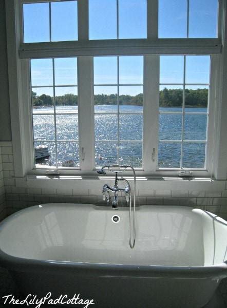 master bath www.thelilypadcottage.com
