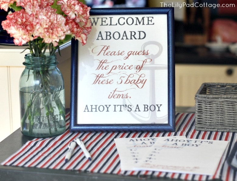 Ahoy Its A Boy Baby Shower The Lilypad Cottage