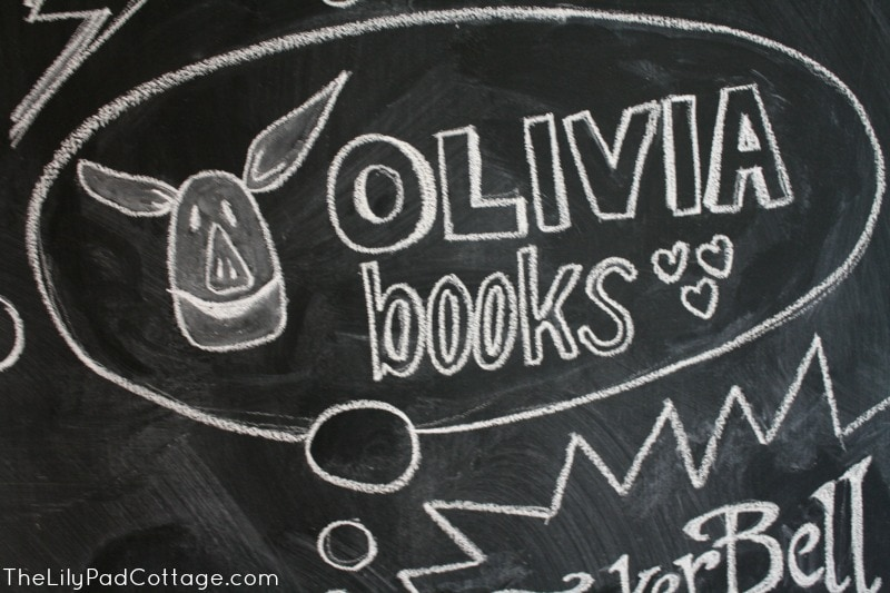Kids chalkboard art