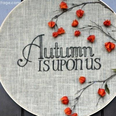 Autumn Door Decor