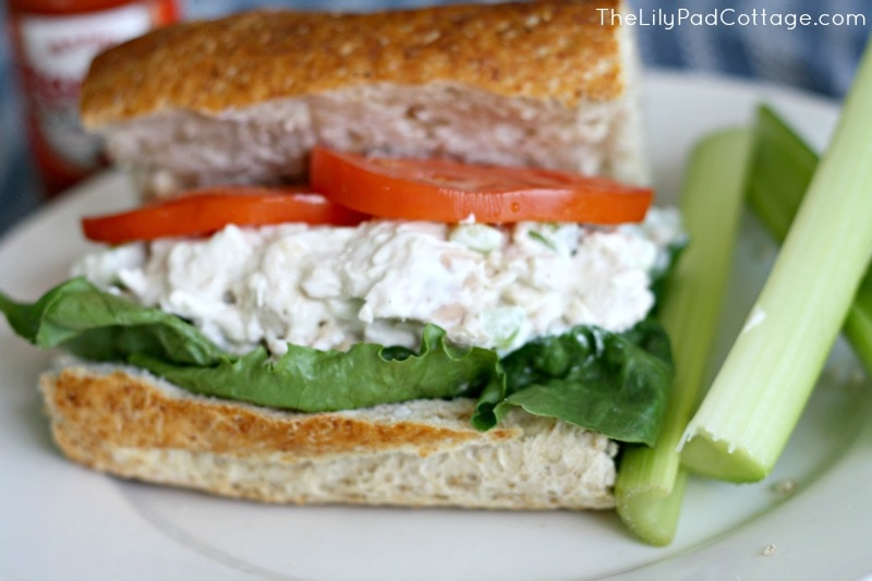 Chicken Salad Sandwich Recipe Buffalo chicken salad recipe