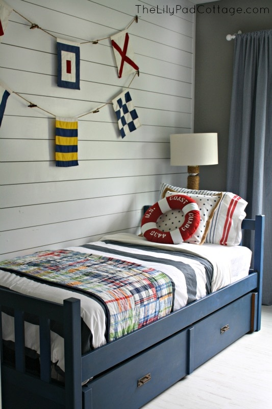 Nautical Big Boy Room
