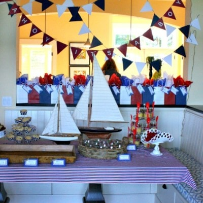 Ahoy It's a Boy – Baby Shower