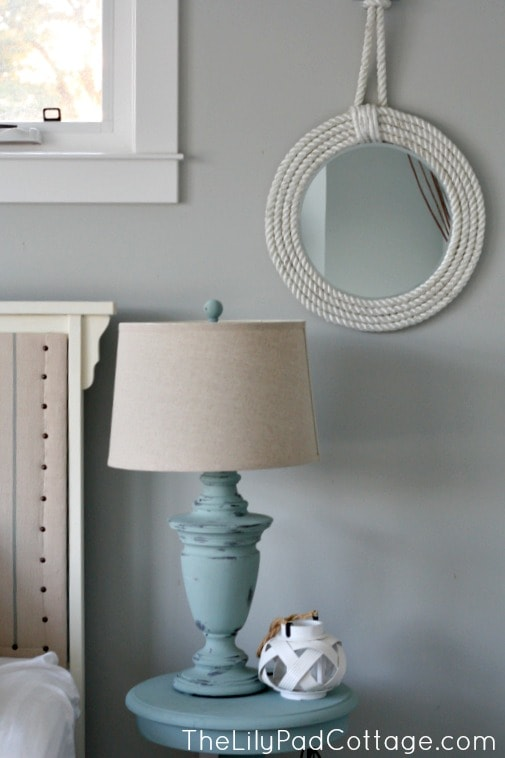Painted Lamp Makeover