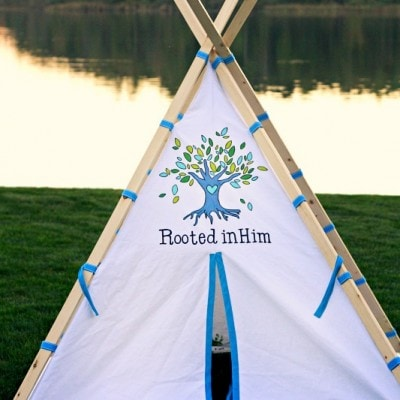 DIY Kids Teepee – and why my mother-in-law is marvelous…