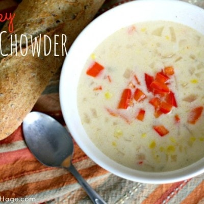 Spicy Corn Chowder and Giving Back with Project 7