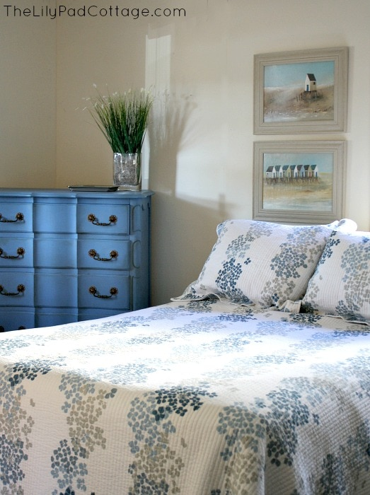 Annie Sloan Chalk Painted furniture and room redo