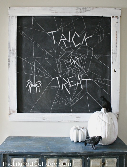 Halloween Chalkboard Ideas