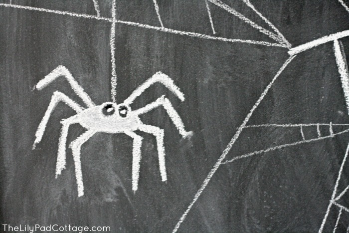 Trick or Treat Chalkboard