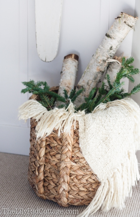 Christmas Basket Decor
