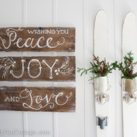 Christmas Sign - The Lily Pad Cottage