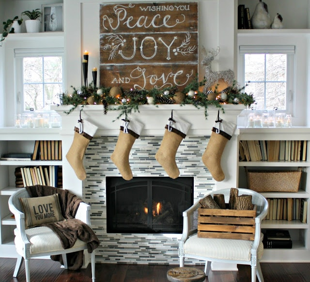 The Lilypad Cottage: Christmas decor