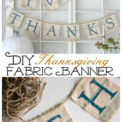 Give Thanks Banner Tutorial