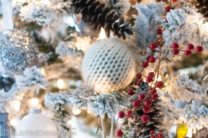 Sweater ornament