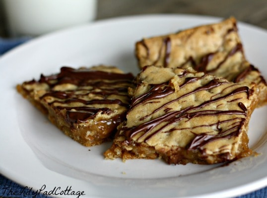 Chewy Chocolate Toffee Bars