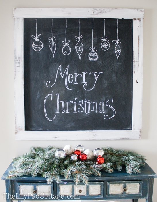 Christmas Red Chalk Paint