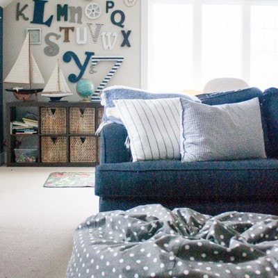 Playroom decor a la toddlers – welcome to my real life