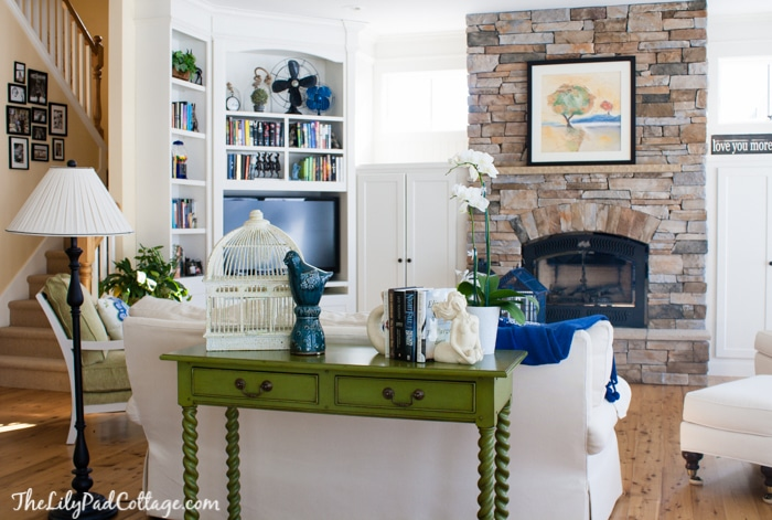 Lake House Decorating Ideas Inspiration Lake House Decor  My Mom's Sunny Living Room  The Lilypad Cottage Inspiration