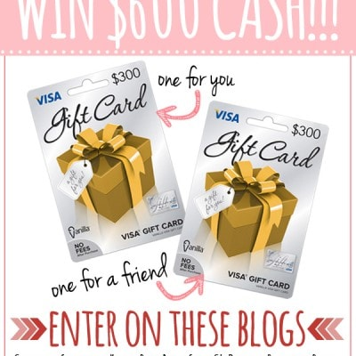 Share the Love Giveaway – $600