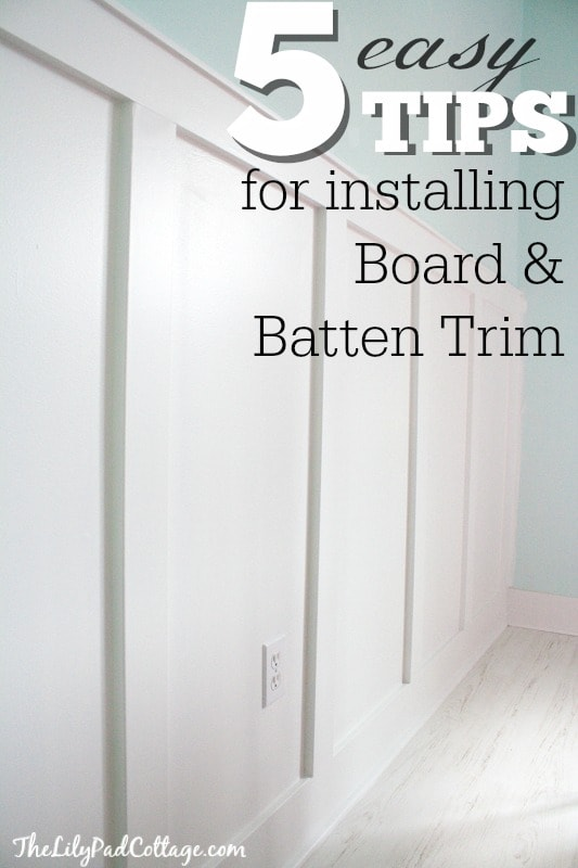 5 easy tips for installing board and batten trim