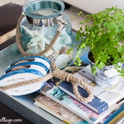 Coffee Table Style – living room sneak peek