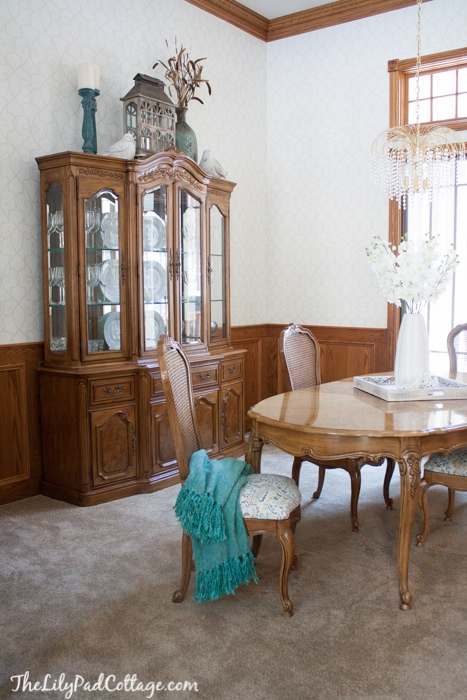 Formal dining room makeover