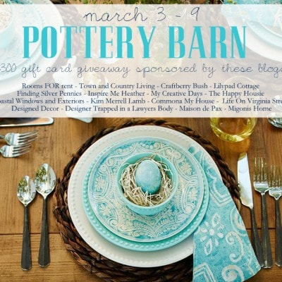 $300 Pottery Barn Giveaway